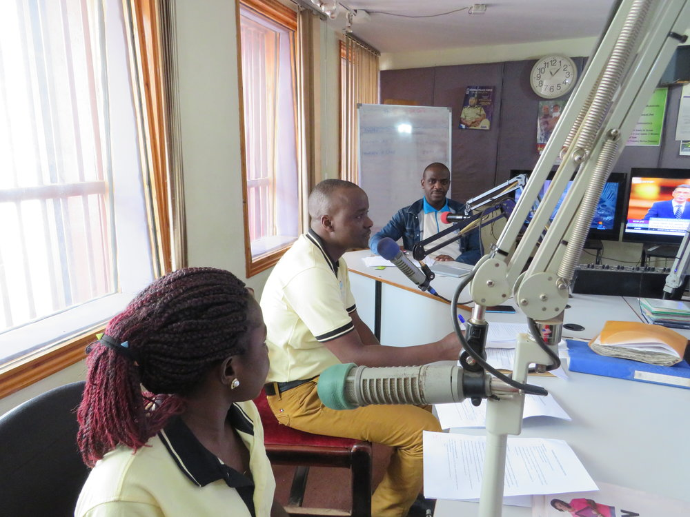 STREAM CAB Uganda take part in radio show to promote TB awareness