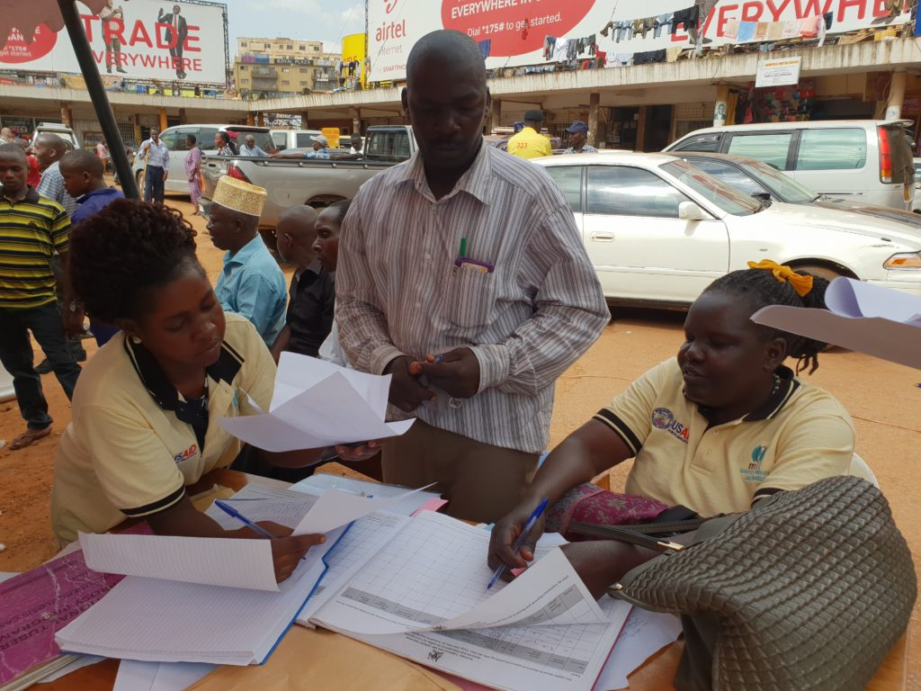 STREAM Uganda CAB hold outreach event at taxi rank, Kampala.