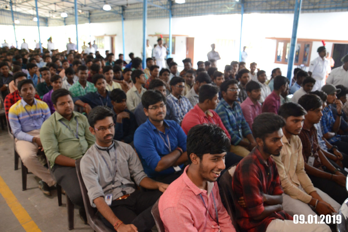 Participants at a community outreach event in Chennai