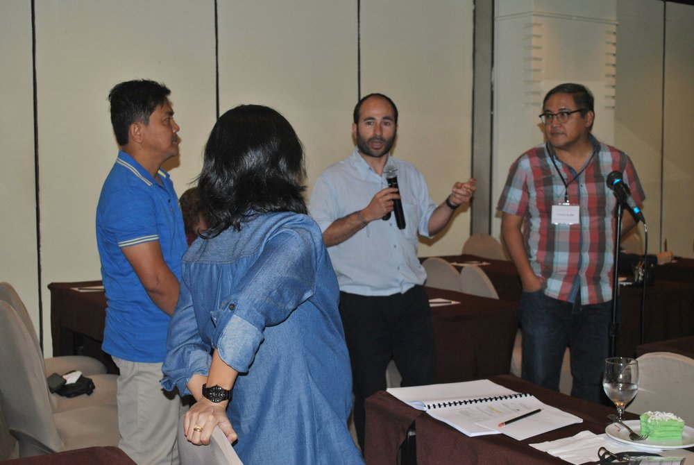 technical assistance sessions in The Philippines