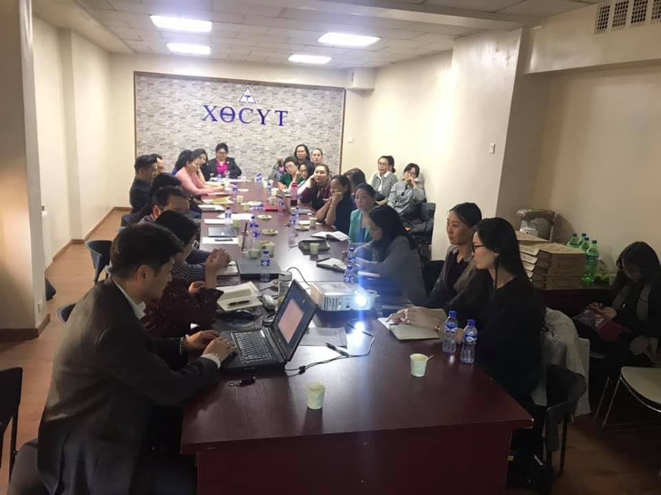 World TB Day meeting. STREAM CAB Mongolia gathers NGOs, IGOs and government representatives to discuss next steps for TB prevention and treatment.